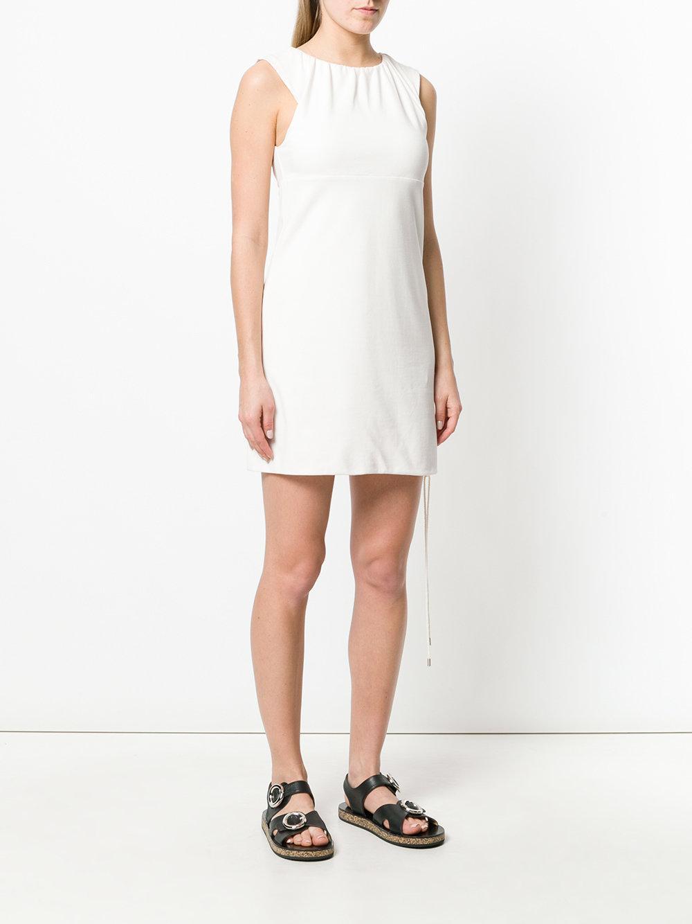 Lace-up detail dress - Nude & Neutrals Carven lYb0LRc0d
