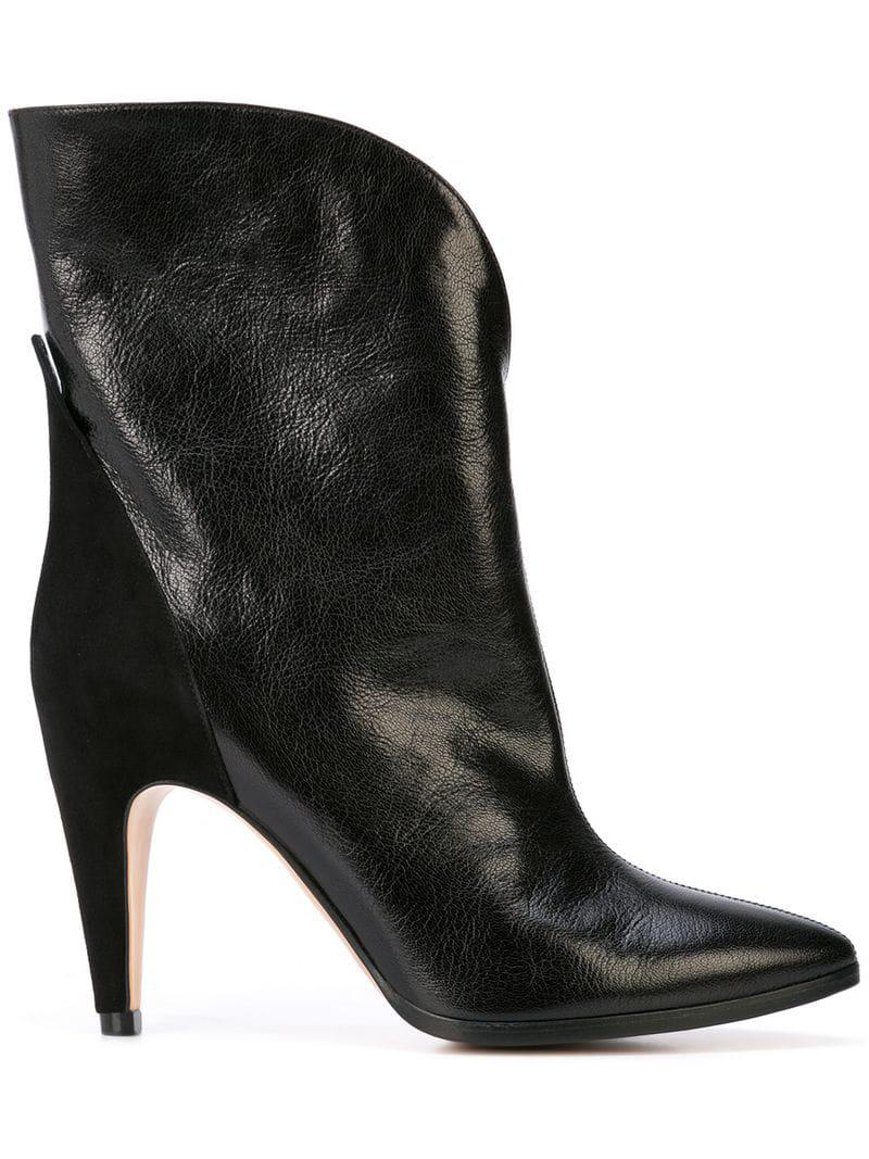 5f75bb714772 Lyst - Givenchy Mid-heel Ankle Boots in Black