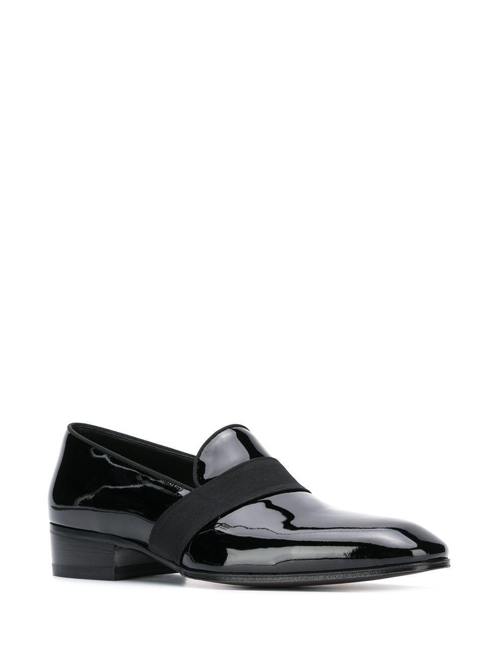 Tom Ford Loafers Met Elastisch Bandje in het Zwart voor heren