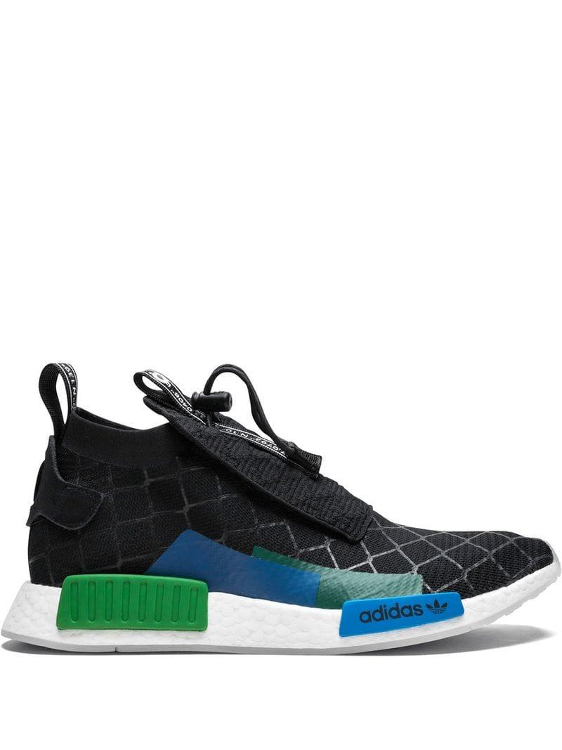 2458ca6d7 Adidas - Black Nmd Ts1 Gore-tex Primeknit Sneakers for Men - Lyst. View  fullscreen