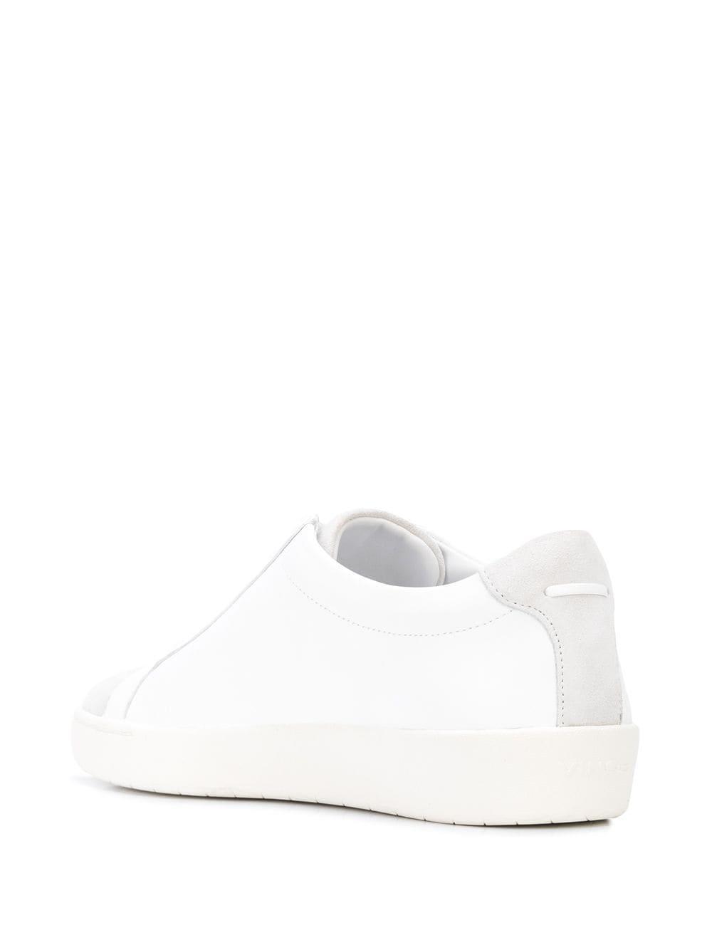 Zapatillas Janna Vince de Cuero de color Blanco