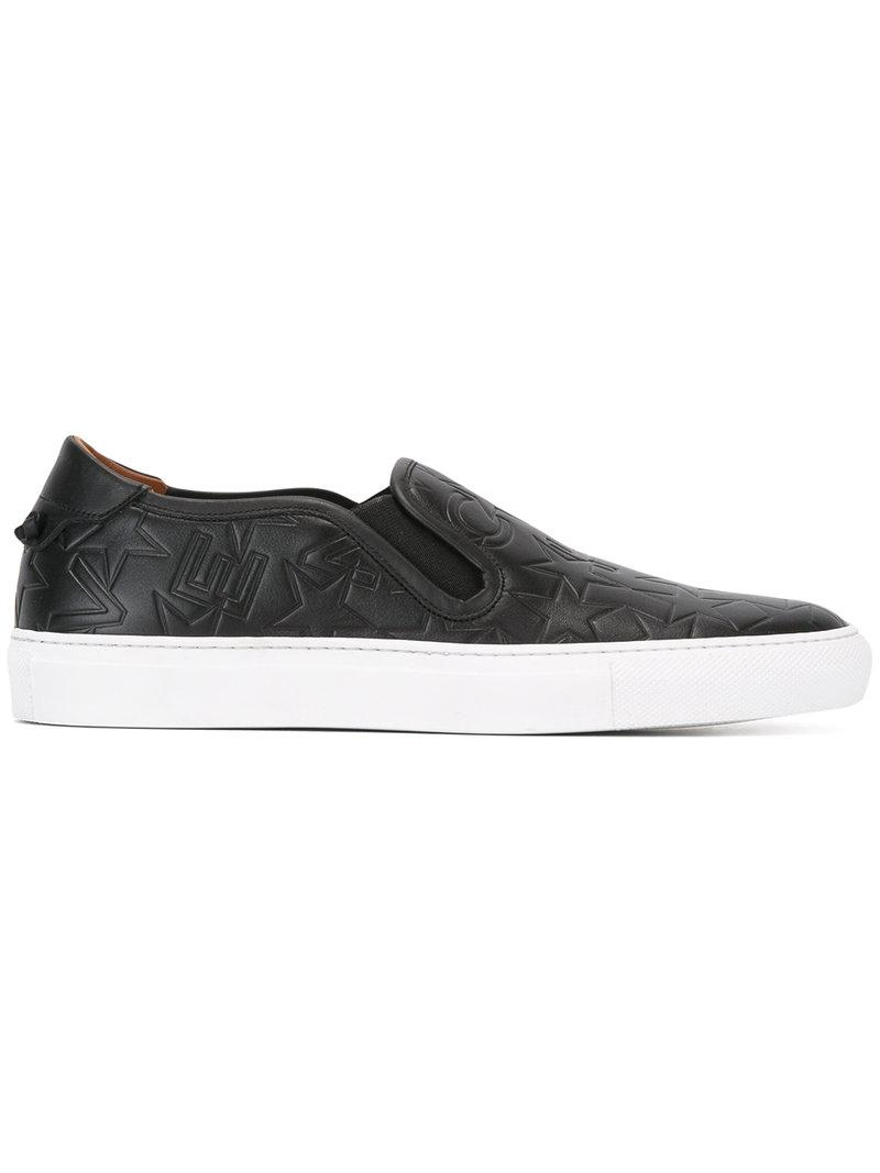 Free Shipping New Givenchy Logo embossed low skate sneakers Free Shipping Discount nt2mITQGi