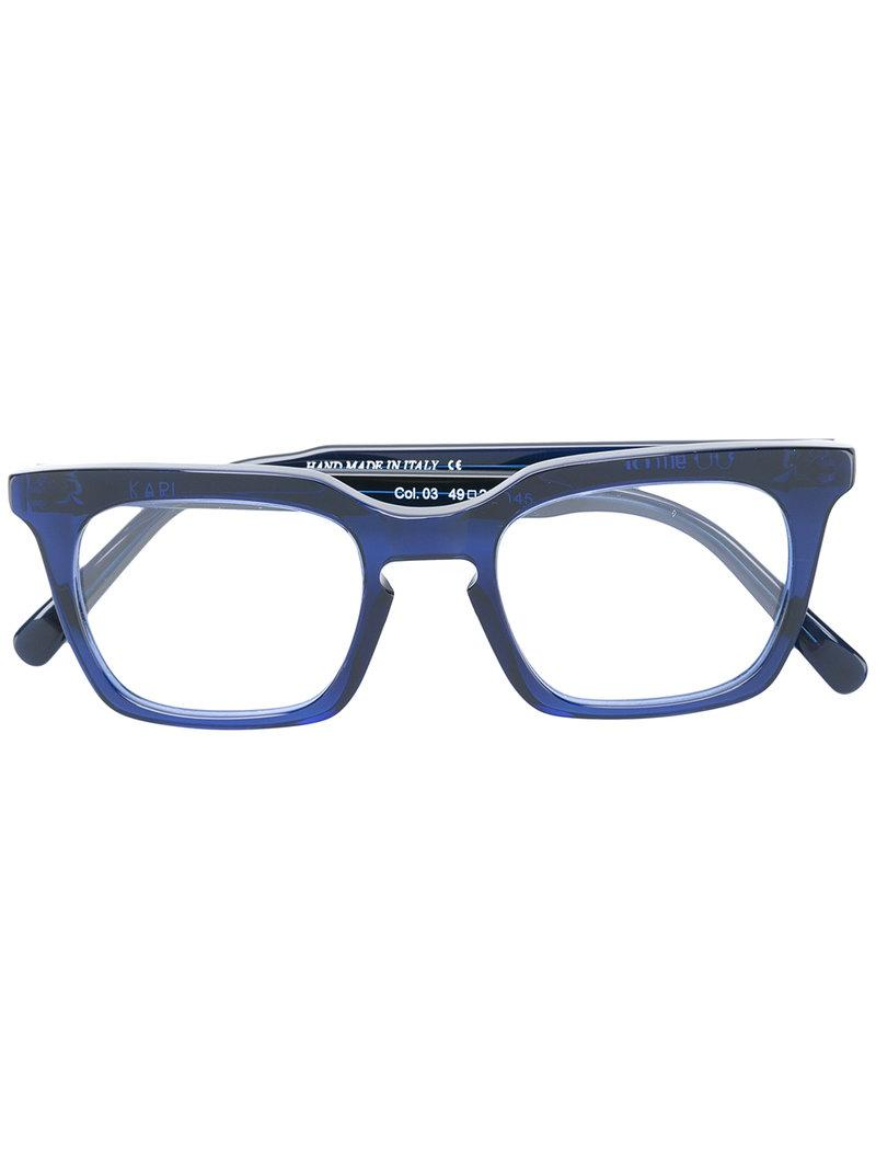 a4a9d18566 Kyme Karl Glasses in Blue - Lyst