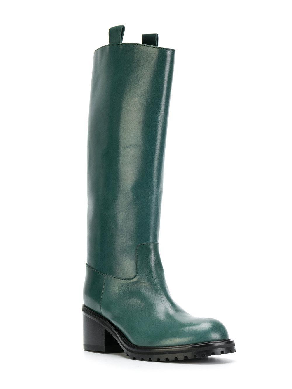 Lyst - A.F.Vandevorst Stivali Per La Pioggia in Green ebc89f462a1