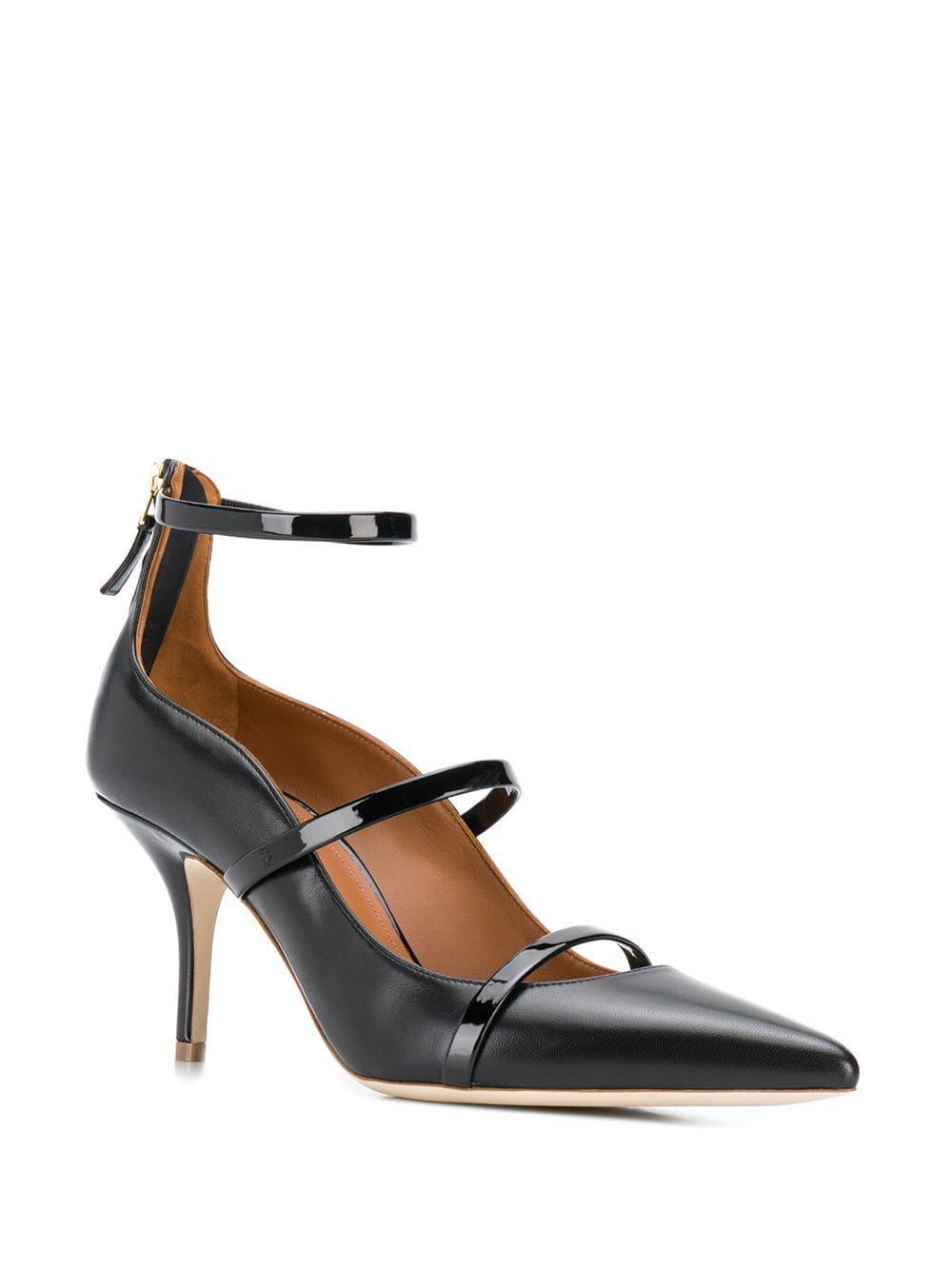 Zapatos de tacón Robyn Malone Souliers de Cuero de color Negro