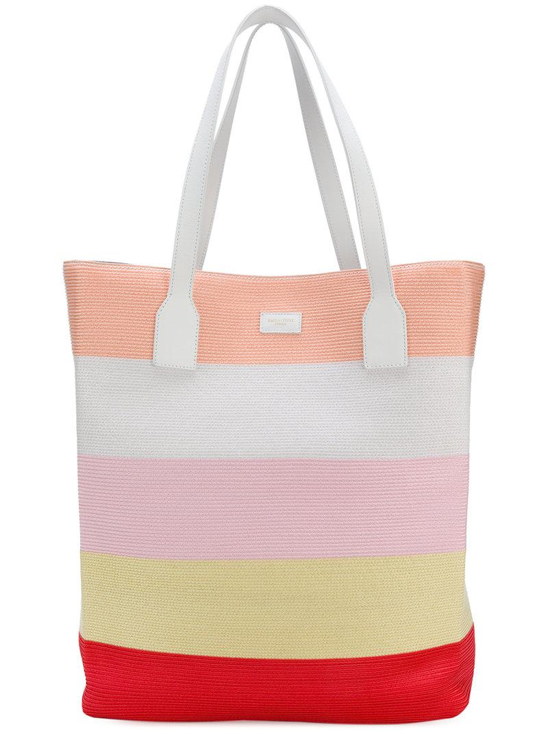 Emilio Pucci striped tote bag Find Great Cheap Online Pay With Visa Sale Online From China Cheap Price Sale Visit 4gGuepTVn