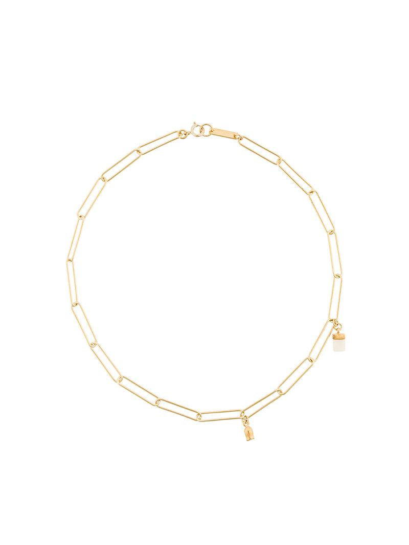 Circular chain necklace Isabel Marant AcflZ