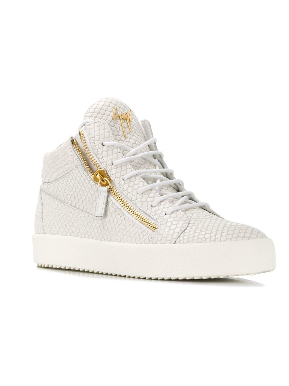 92273330be7a9 Lyst - Giuseppe Zanotti Kriss Hi-top Sneakers in White for Men