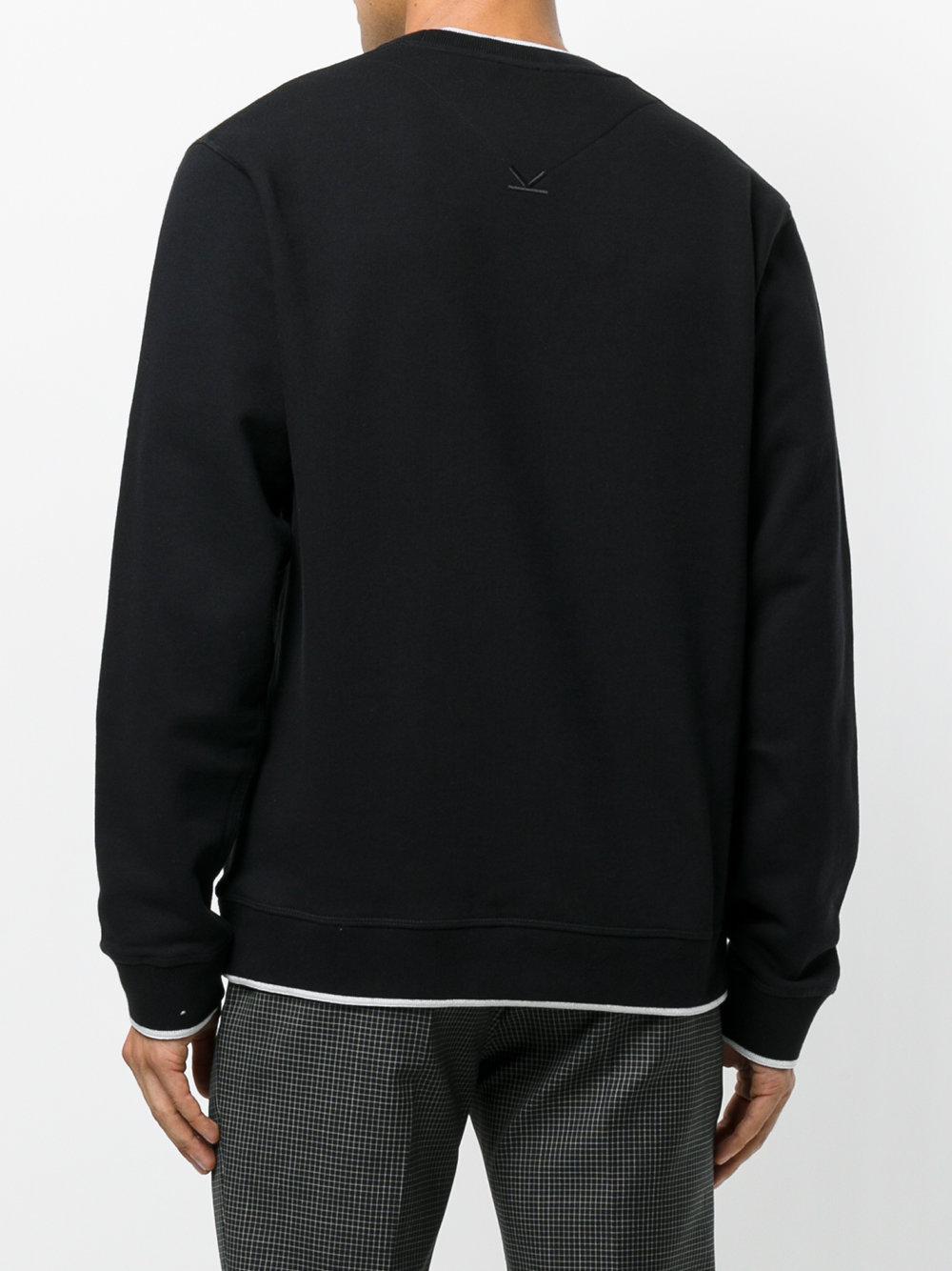 3ac5616522d4 Lyst - Sweat Tiger KENZO pour homme en coloris Noir