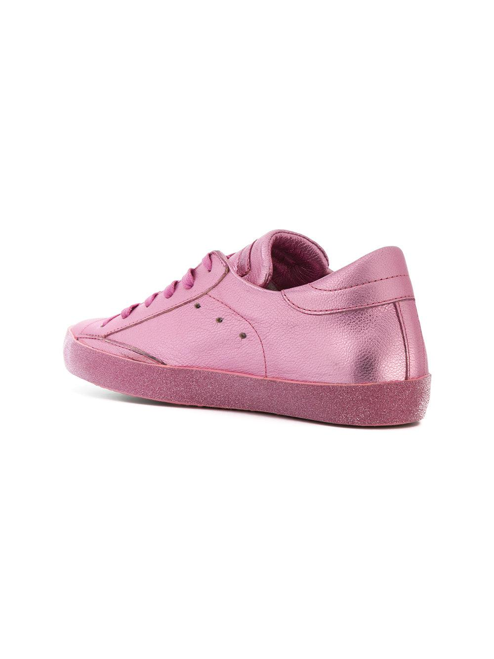 Paris sneakers - Pink & Purple Philippe Model T10qX