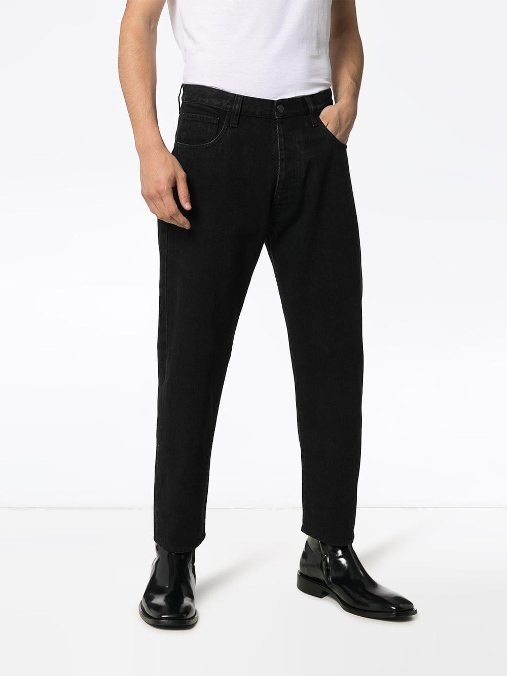 Prada Denim Slim-fit Jeans in het Zwart voor heren