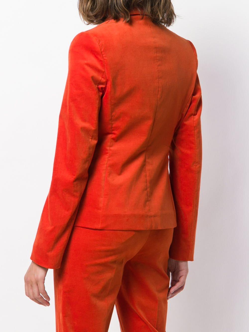 Blazer à boutonnière croisée Luisa Cerano en coloris Orange