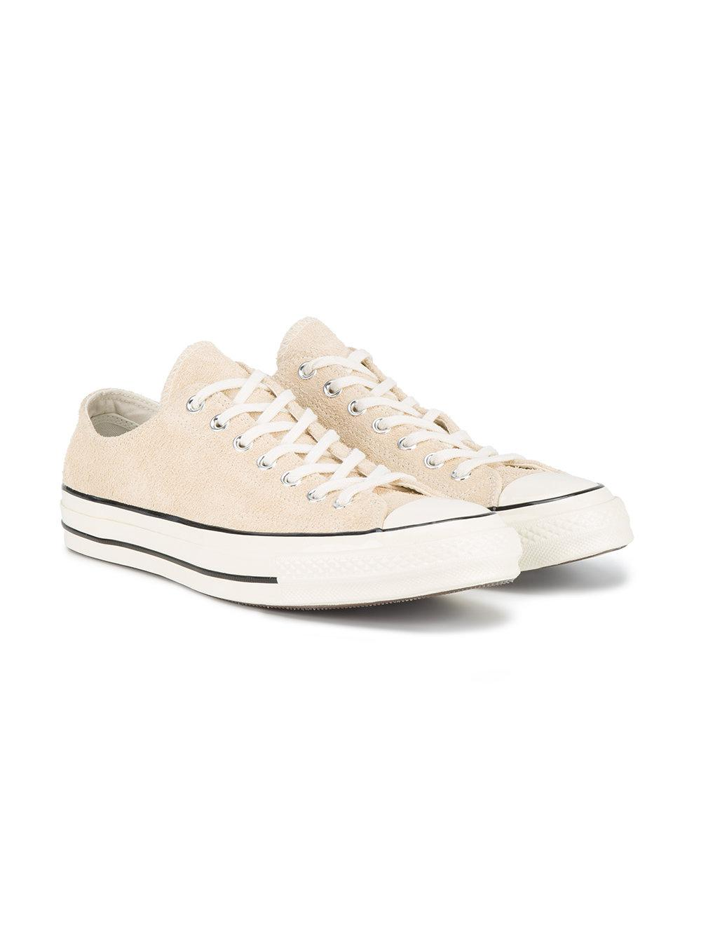 lyst converse suede 70s chuck taylor low sneakers for men
