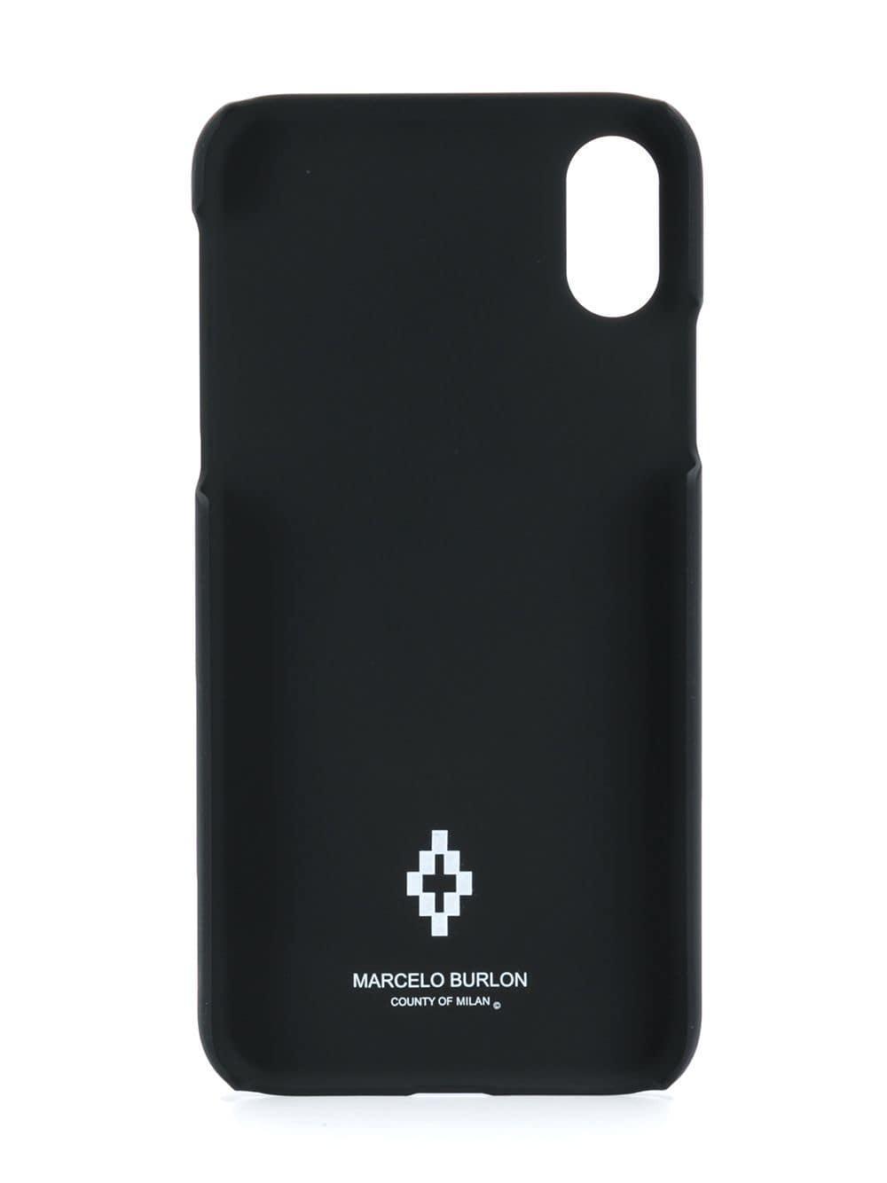 38fa59a69ef1 Lyst - Marcelo Burlon Floppy Disk Iphone X Case in Black for Men