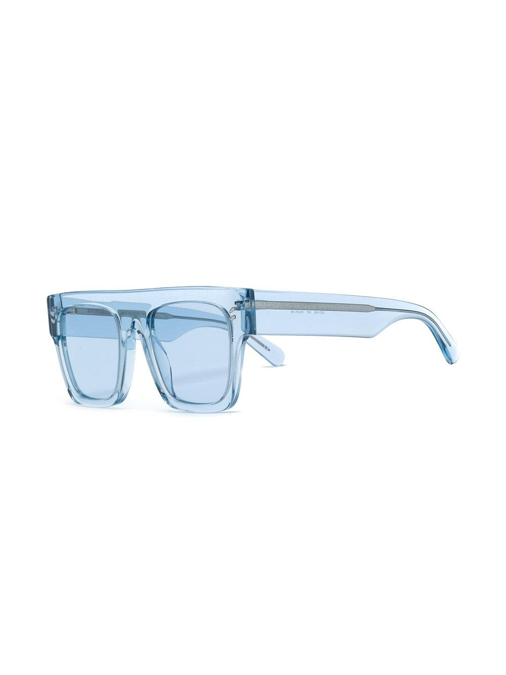 Stella McCartney Square Frame Sunglasses in Blue