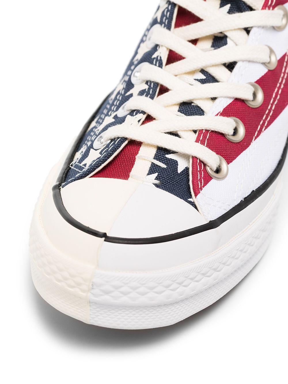 Zapatillas altas Chuck Taylor de 70mm Converse de Lona de color Blanco