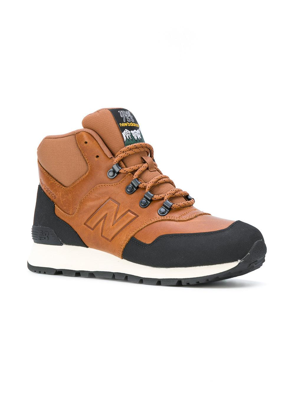 New Balance Synthetic Sneakers '755 Winter' in Brown for Men - Lyst