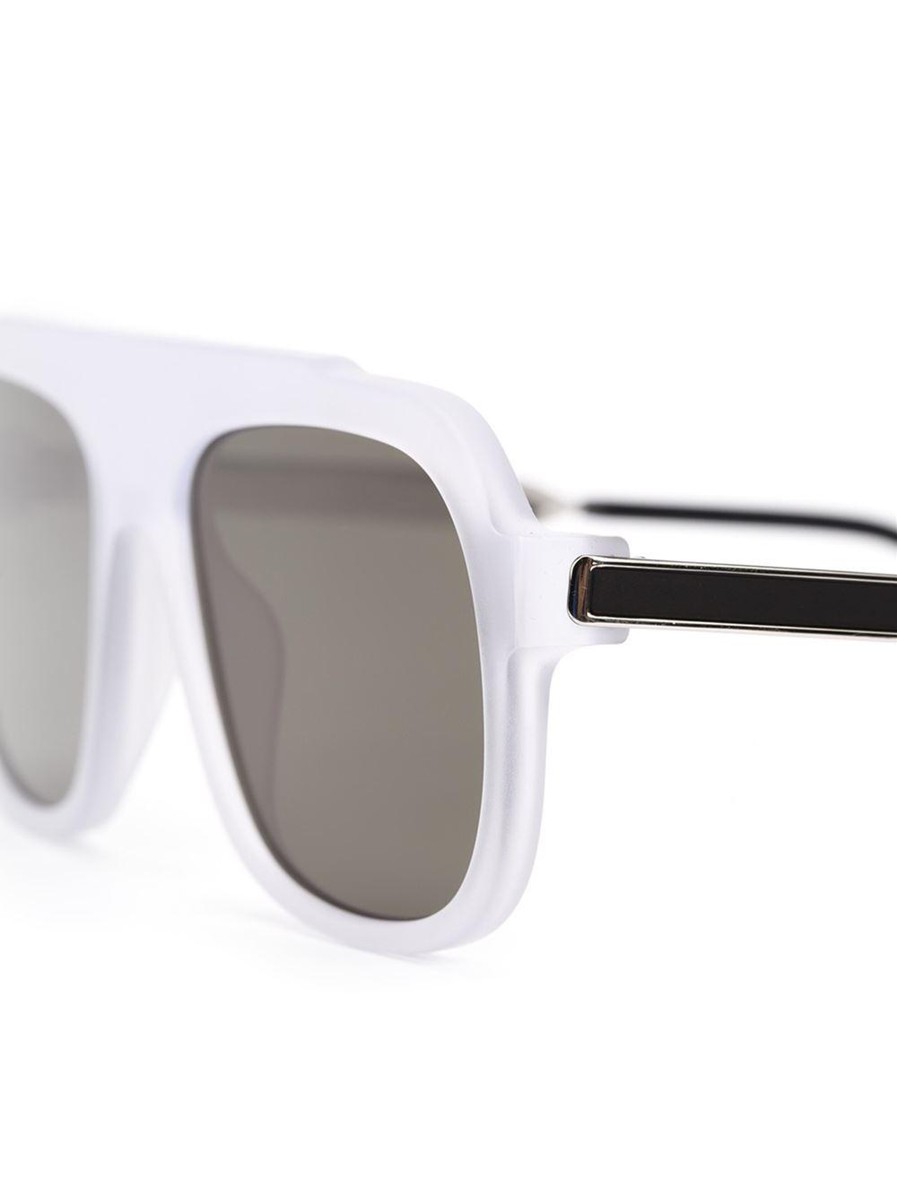 Thierry Lasry 'velocity' Sunglasses in White