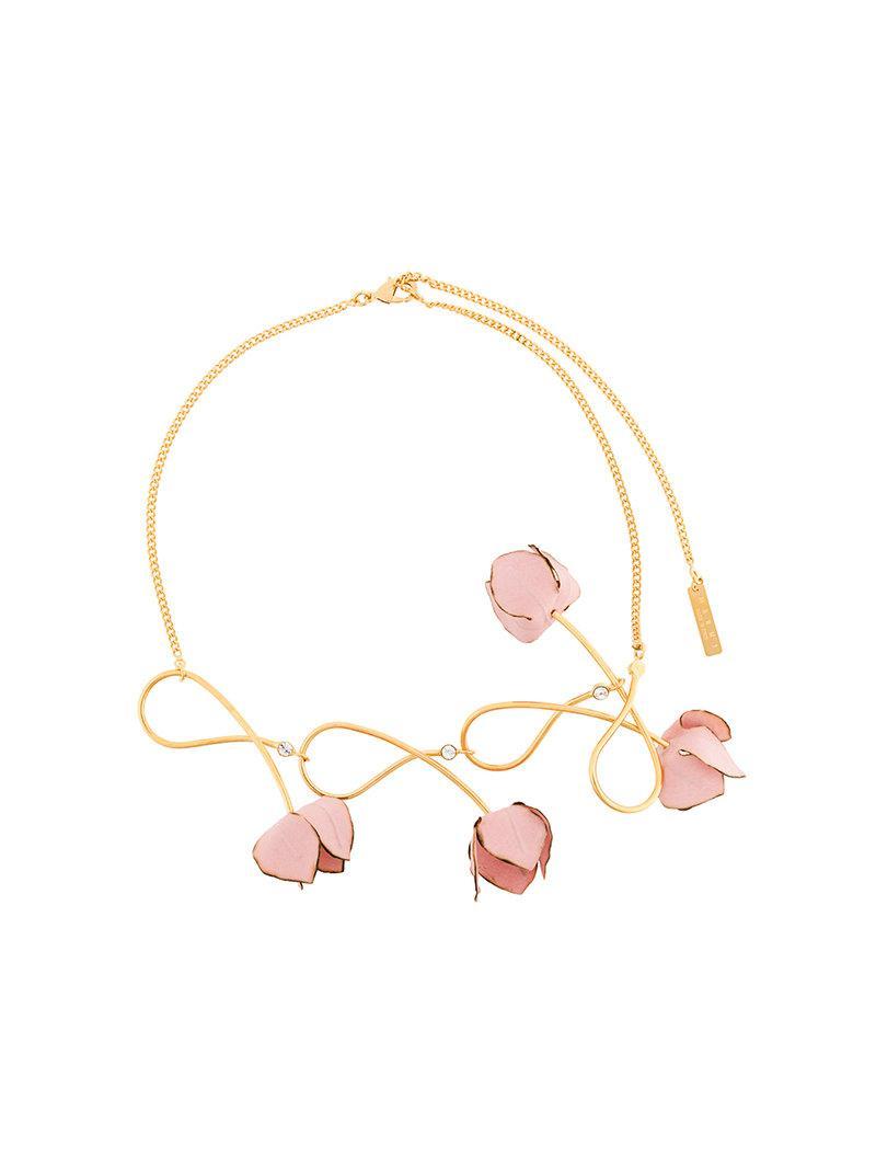 floral statement necklace - Multicolour Marni lqDcBOY