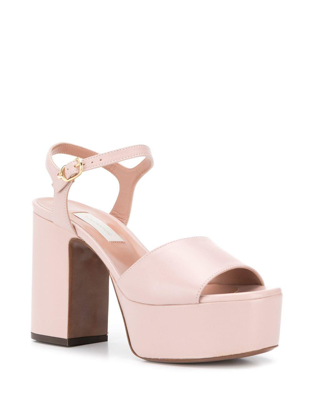 8a2c4249525 L Autre Chose - Pink Platform Open-toe Sandals - Lyst. View fullscreen