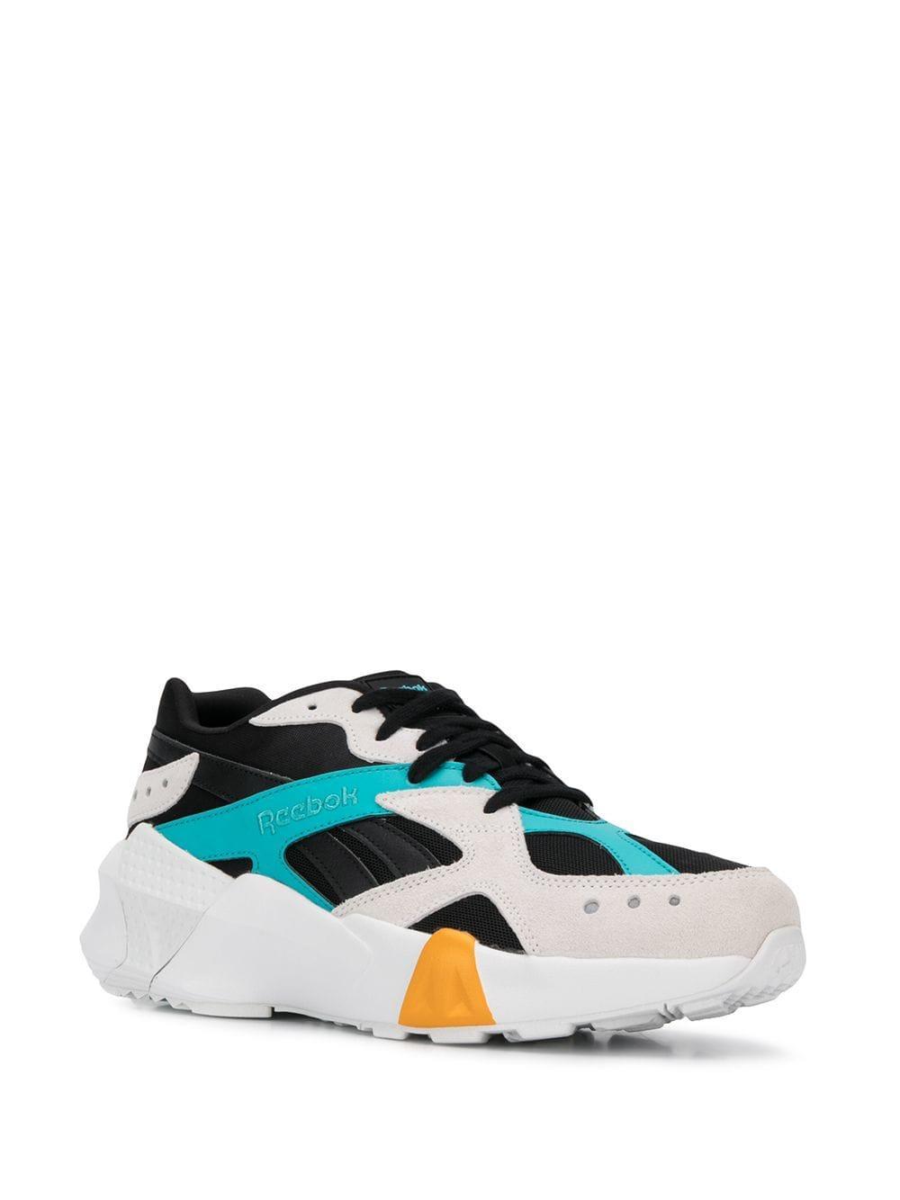 ec91eff7536 Reebok - Black Aztrek Double X Gigi Hadid Sneakers for Men - Lyst. View  fullscreen