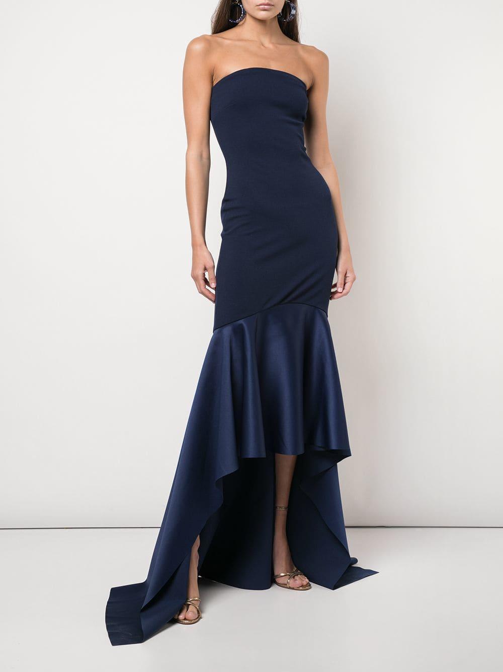 2166d6e55b6 Lyst - Solace London Kerama Gown in Blue