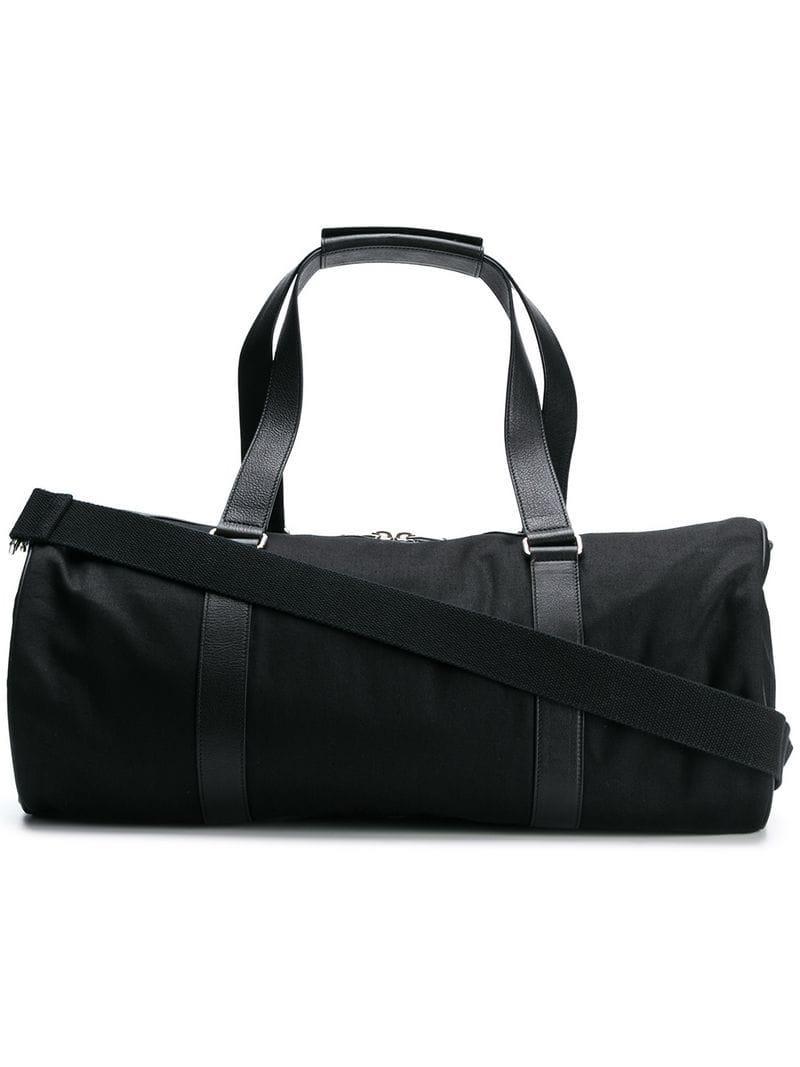 2594f733f96d Saint Laurent Cylindrical Holdall in Black for Men - Lyst