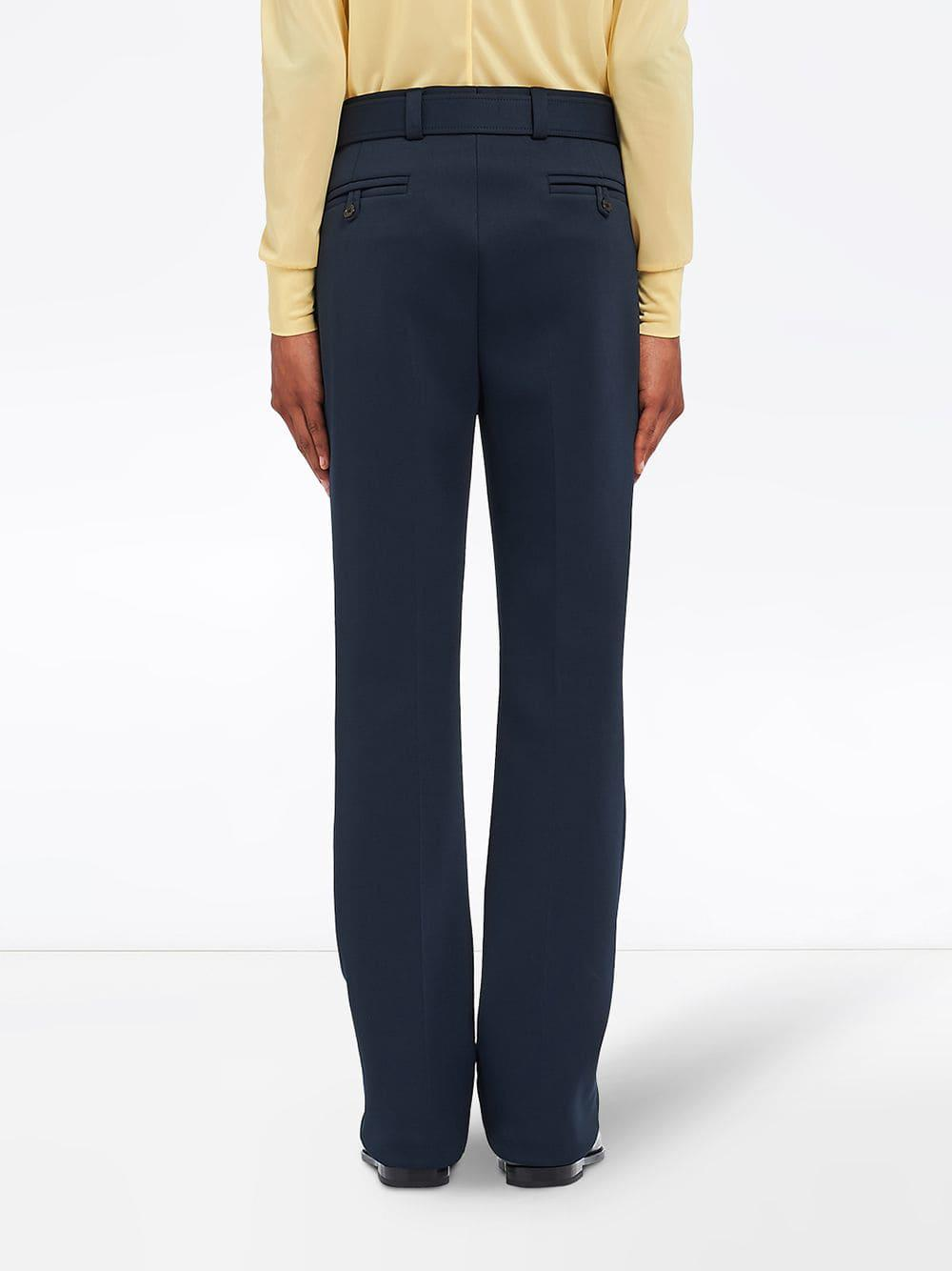 311ae878 Lyst - Prada Technical Runaway Trousers in Blue for Men