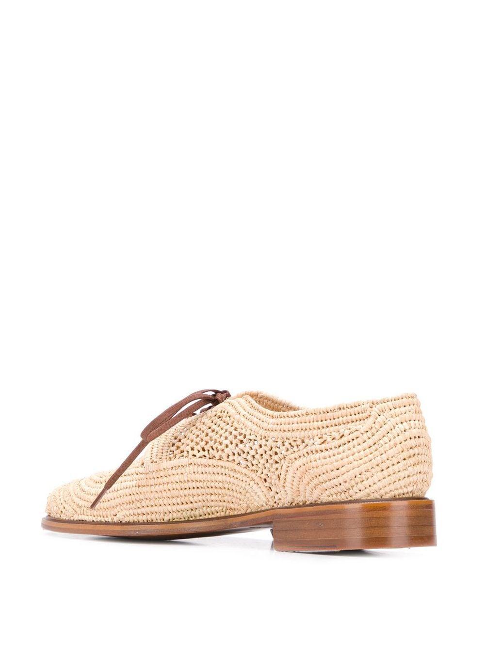 Zapatos Japaille Clergerie de Cuero de color Neutro
