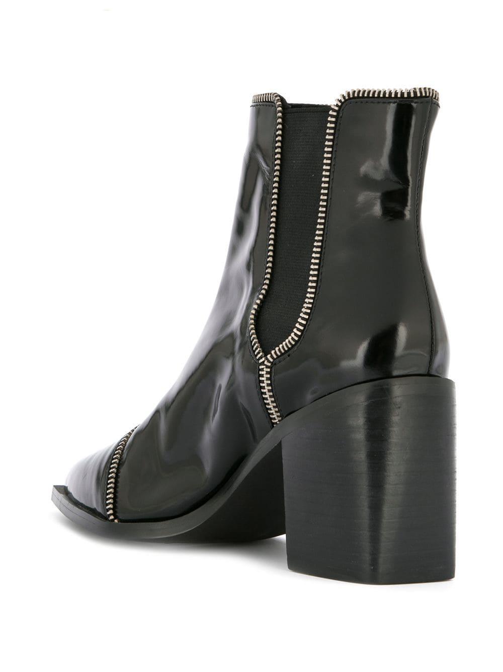 Lyst in Ankle Ii Senso Boots Black Danger qxqfrvzSw