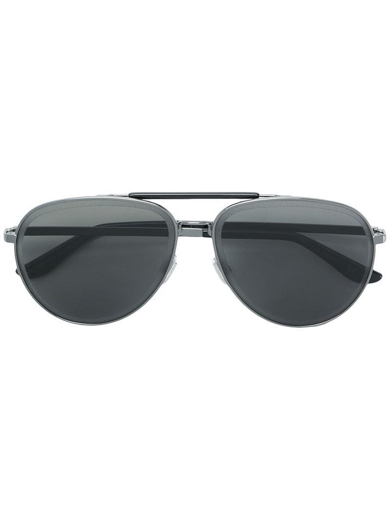 89f5f463eaa Jimmy Choo Fin 63 Sunglasses in Black for Men - Lyst