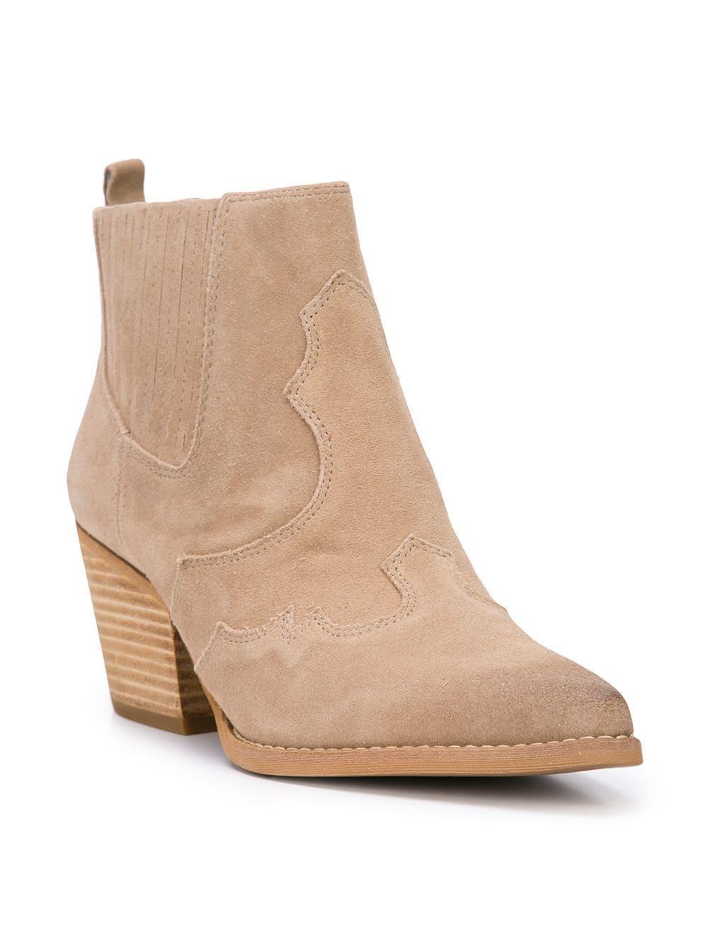 8f2a51d3c6642 Sam Edelman - Multicolor Winona Western Boots - Lyst. View fullscreen