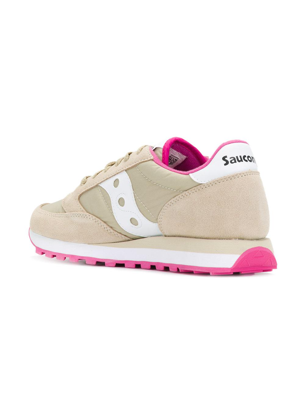 Saucony Suede Lace-up Sneakers