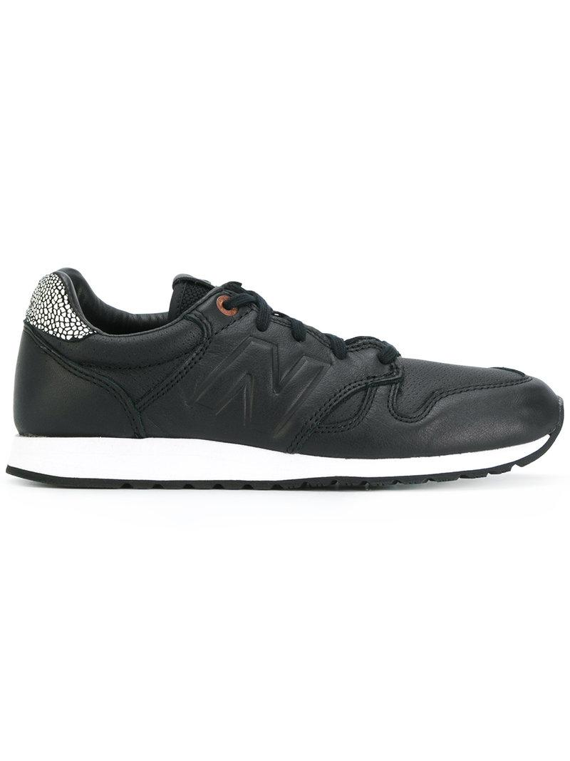 lyst new balance 520 sneakers in black for men. Black Bedroom Furniture Sets. Home Design Ideas