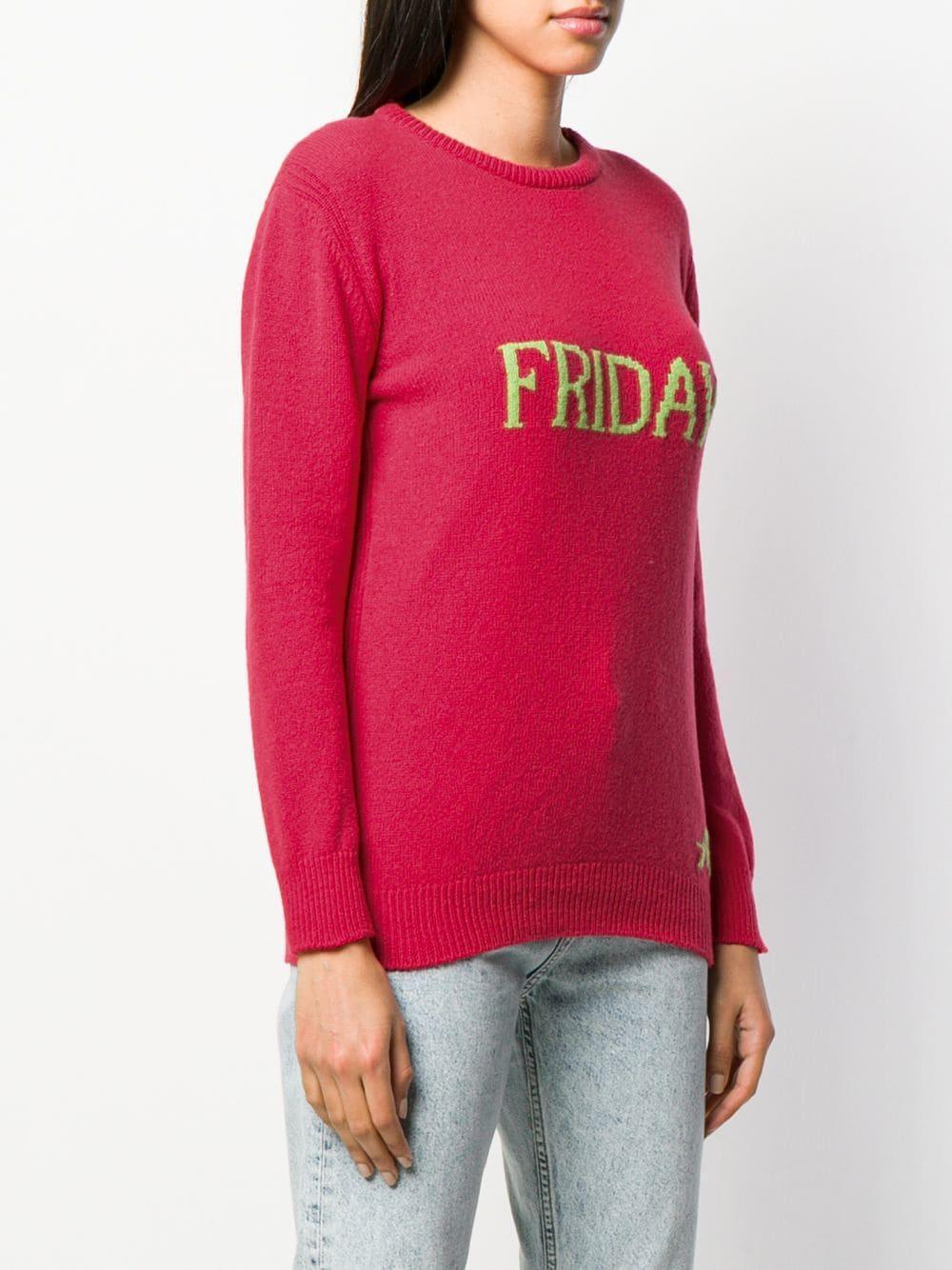 Jersey Friday Alberta Ferretti de Cachemir de color Rosa