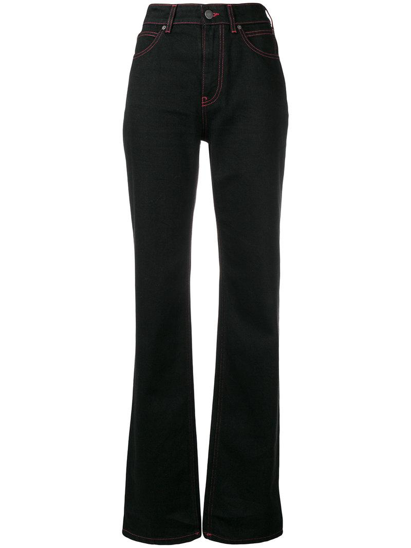 long straight-leg jeans - Black CALVIN KLEIN 205W39NYC SItyTbj