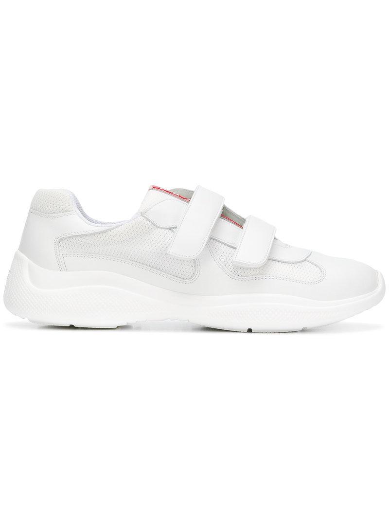 cdbb6e7480ec ... denmark lyst prada americas cup sneakers in white for men 56fe1 26ff0