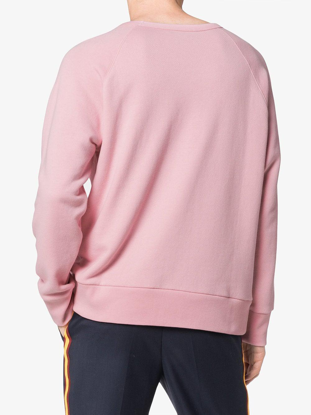 2df7c3c42 Gucci Baby Print Logo Long Sleeve Sweatshirt in Pink for Men - Lyst