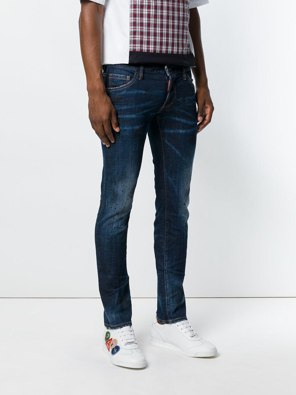 Dsquared 178 Clement Limited Edition Jeans In Blue For Men Lyst
