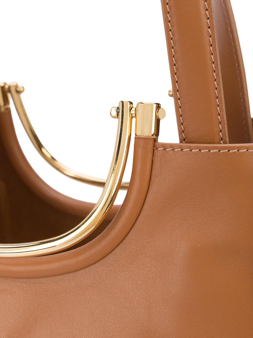 10 Crosby Derek Lam Leather Large Tote Bag in Brown