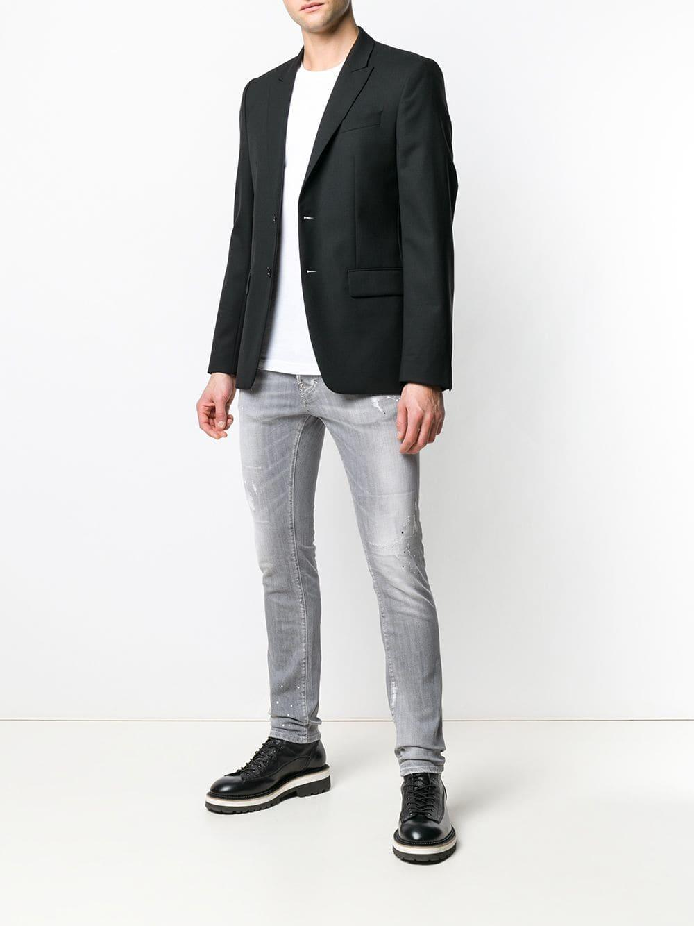 8c4e07253a8 Lyst - DSquared² Cool Guy Lightly Distressed Jeans in Gray for Men
