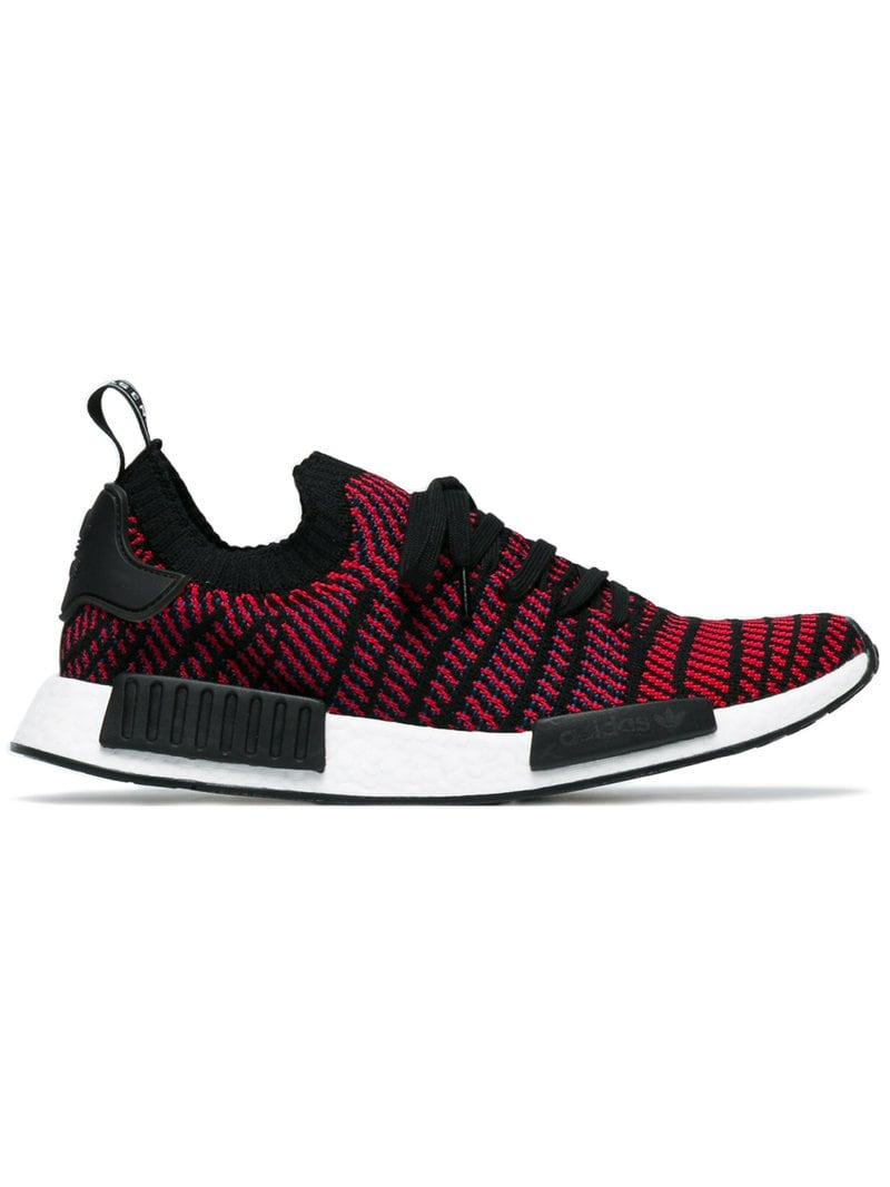 f4ab48ca3d749 Lyst - adidas Originals Nmd r1 Stlt Primeknit Sneakers in Black for ...