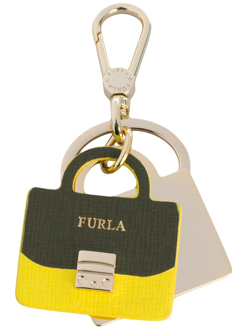 handbag keyring - Metallic Furla MFJidlVEv
