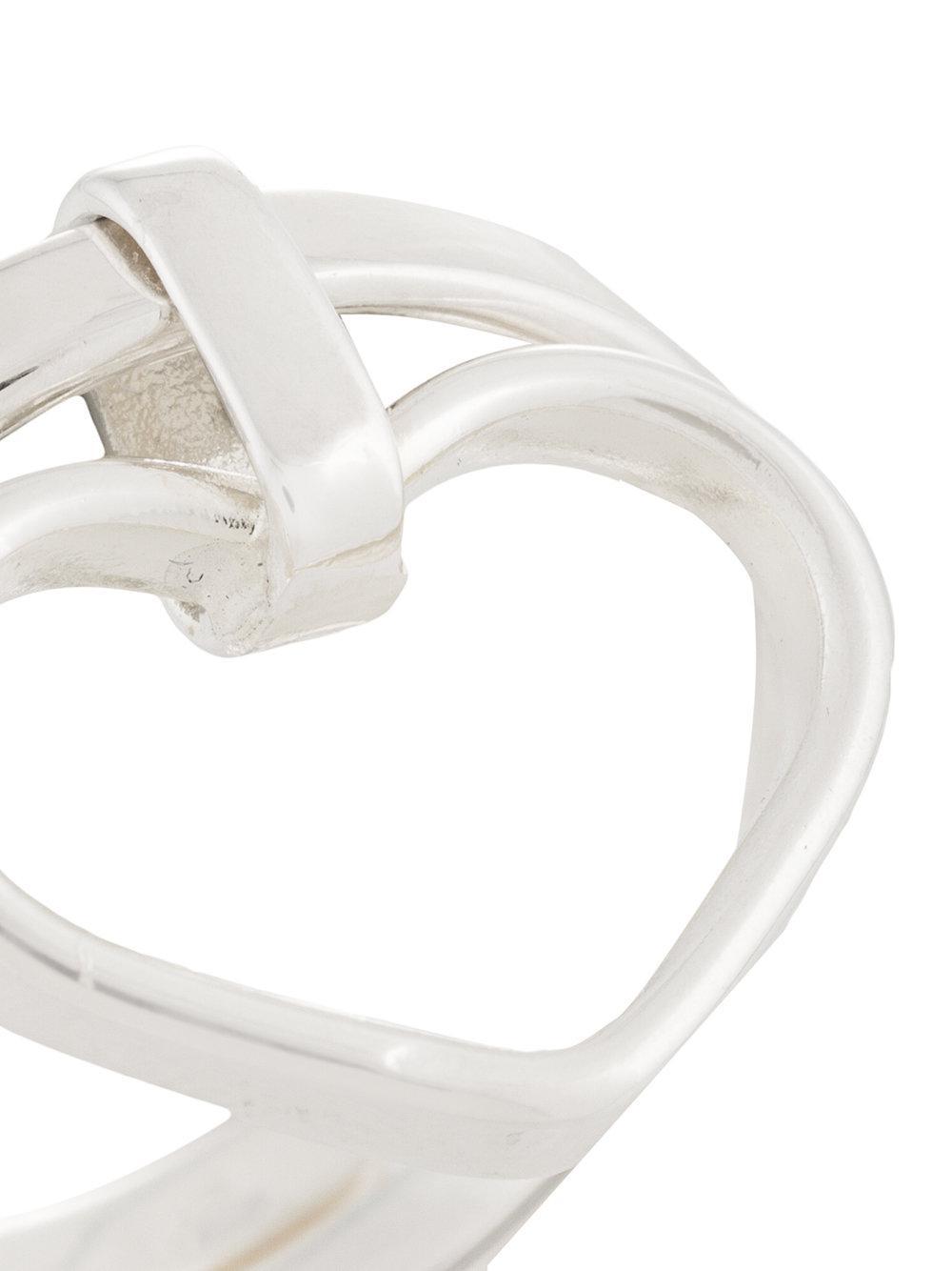 SeeMe Edna Ring in Metallic