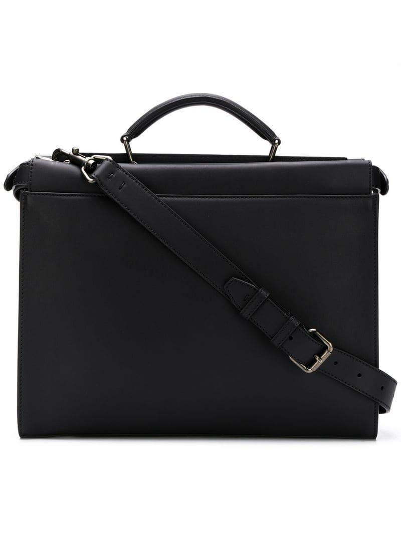 64e087466979 Fendi Laptop Case in Black for Men - Lyst