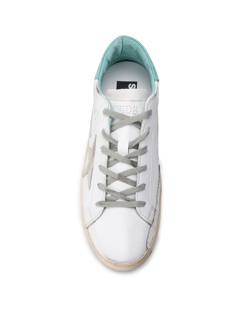 Zapatillas Superstar Golden Goose Deluxe Brand de Pluma de oca de color Blanco