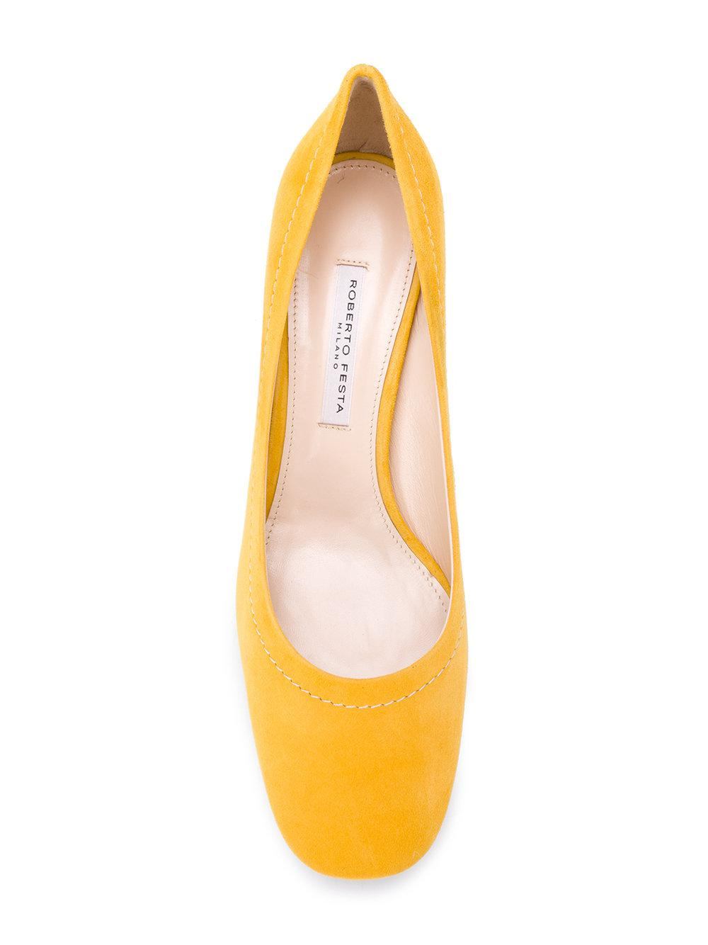 mid heel pumps - Yellow & Orange Roberto Festa Milano L9Keapw62r