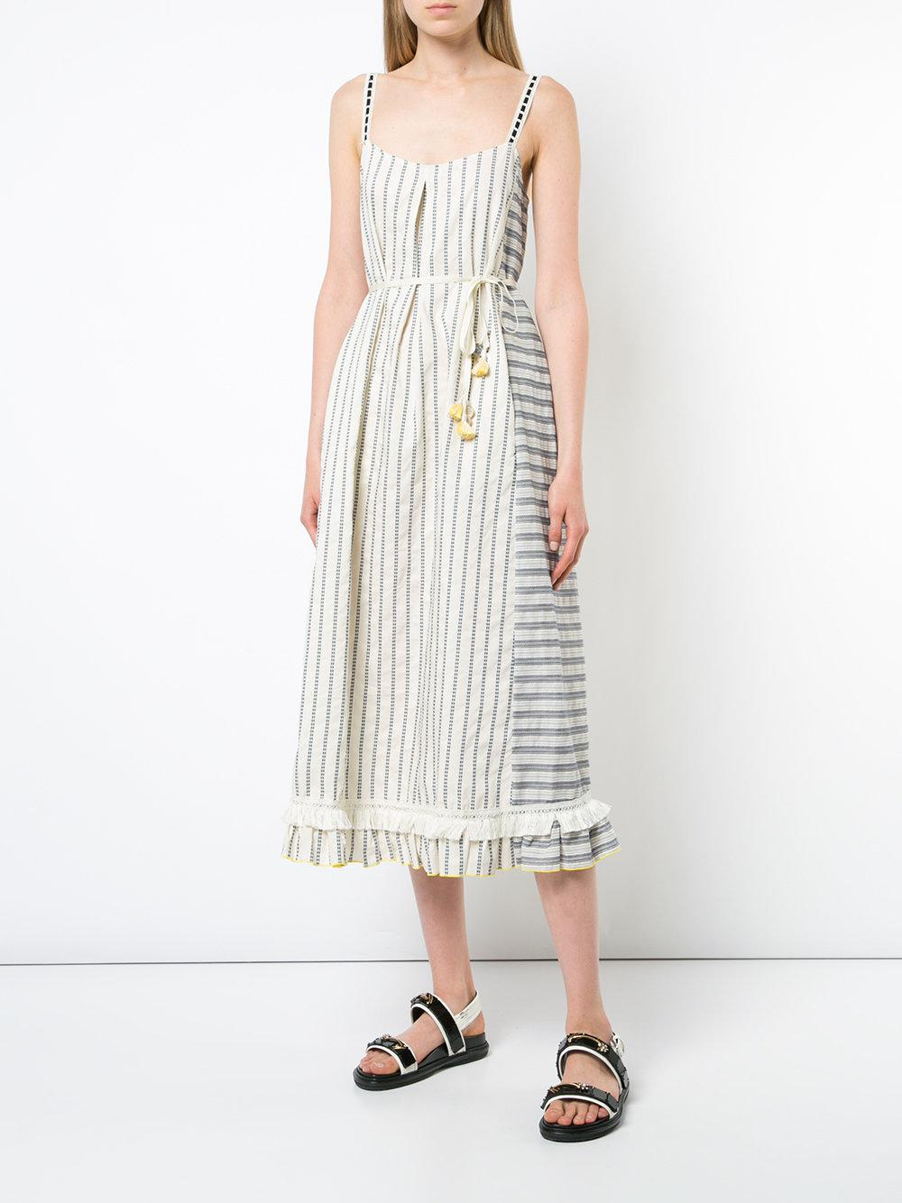 a926c5998974 Lemlem - White Striped Sundress - Lyst. View fullscreen
