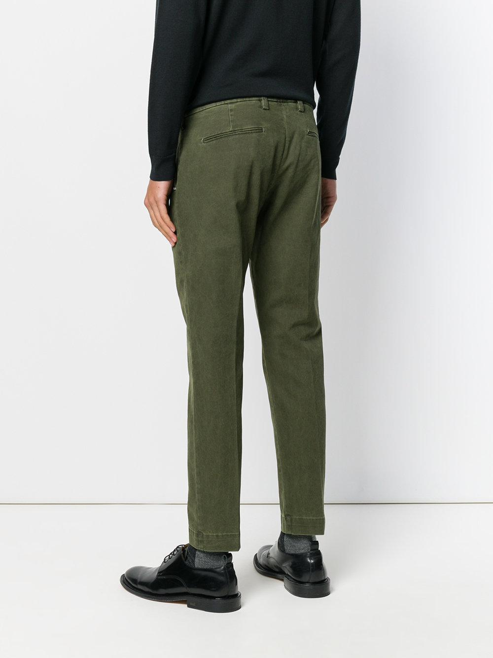 Entre Amis Denim Regular Fit Jeans in Green for Men