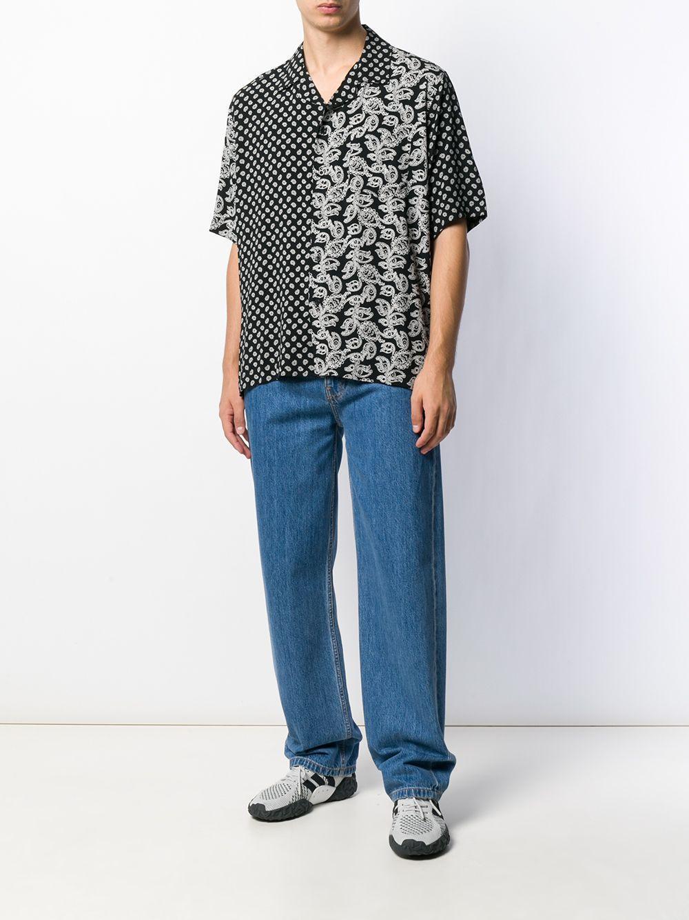 Rhude Overhemd Met Paisley-print in het Zwart voor heren